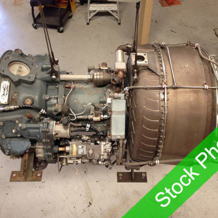 Lycoming-T53-Stock Image Top